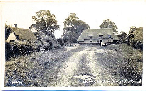 Title: Brook End Cottages, Cottered - Publisher: Number 148934 - no date information