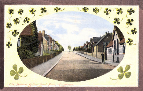 The Avenue, Rothamstead Park, Harpenden, 1911