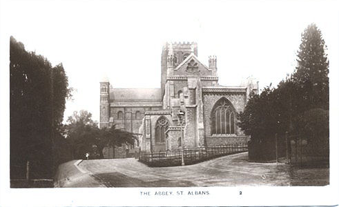 Title: The Abbey, St Albans - Publisher: The Kingsbury Series No 2 - unused