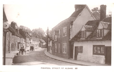 Title: Fishpool Street, St Albans - Publisher: The Kingsbury Series No 83 - No date information